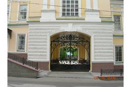 въезд на парковку с ул.Кирова